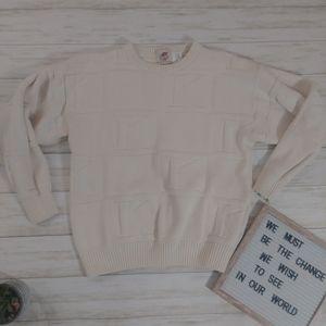 Vinatge EF EN EF Enterprises K Pullover Sweater